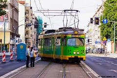 Duewag O #906 (ukasz Janowicz) Tags: duewago 906 pozna mpkpozna azarz zweirichtung tramwaj tram strassenbahn linia28 linie28