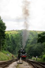 Loads of Smoke (Jon Pinder) Tags: canon tracks trains powershot s100 kwvr
