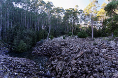 20160627-12-Disappearing Tarn (Roger T Wong) Tags: water outdoors rocks walk australia hike scree tasmania hobart mtwellington bushwalk tramp 2016 wellingtonpark dolerite disappearingtarn sony2470 rogertwong sel2470z sonyfe2470mmf4zaosscarlzeissvariotessart sonya7ii sonyilce7m2 sonyalpha7ii