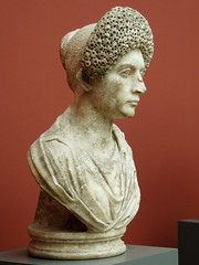 Ancient Rome. Bust of Empress Marcia Furnilla,second wife of Emperor Titus. 1st century AD (mike catalonian) Tags: empress emperor titus ancientrome 1stcenturyad flaviandynasty c80ad marciafurnilla