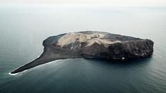 SURTSEY Iceland (karate-schnitzel.de) Tags: ocean from above blue water canon island islands iceland sigma wave atmosphere aerial lonely vestmannaeyjar westman surtsey atlantsflug guidetoiceland