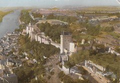 Forteresse royale de Chinon, Touraine, Indre-et-Loire. (Only Tradition) Tags: france frankreich frana frankrijk 37 francia franca franciaorszg  frana