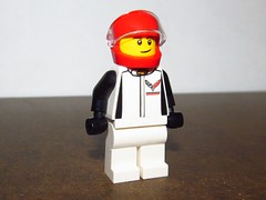 LEGO Chevrolet Corvette Driver (Pest15) Tags: chevrolet lego driver racer minfigure