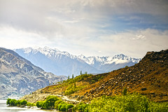 Khaplu Valley - Ghanche (anbajwa) Tags: pakistan water beauty clouds river photography nikon flickr awesome valley mountans skardu khaplu northernareaofpakistan ghanche gilgitbaltistan asimnisarbajwa anbajwa