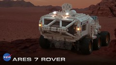 Ares 7 rover on the move (Bricking It) Tags: martian ridleyscott mattdamon andyweir