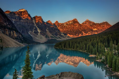 Moraine Lake Magnum Opus (wimvandemeerendonk, back in the cold brrrrr!) Tags: moraine lake bright reflection rock rocks colour color colors colours contrast green sony tree sun outdoors wild wimvandem canada banff alberta sigma mountain blue forest heaven icefield landscape land mountainscape monumental nature national park outdoor sky snow trees valley water nationalpark light panorama view ~themagicofcolours~xi abigfave ngc npc simplysuperb rockpaper flickrelite golddragon topf800800849faves