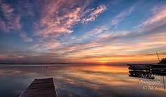 Amundson Landing - Town of Dunn (Don3rdSE) Tags: don3rdse 3rdsiblingphotography canon canon5d 5d eos may 2016 wisconsin wi madison travel trip visit family midwest sunrise amundsonlanding townofdunn stoughton nature natural scenic lake water waterscape