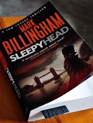Latest Book, Mark Billingham, Sleepyhead (Martin Pettitt) Tags: uk summer book suffolk july indoor dslr sleepyhead burystedmunds markbillingham nikond90 project366 afsdxvrzoomnikkor18105mmf3556ged