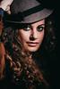 Antonia (marihg_) Tags: girl hat canon hair studio eyes curly 50 curlyhair ritratti ritratto lightroom 50d portatrait