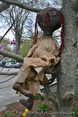 Primitive Creation Doll (Historic Gardens) Tags: dinner spring novascotia 26 auction may historicgardens annapolisroyal 2013