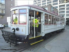 MSR Historic Trolleys No 001- Oct.06.2012a (eric j hoover) Tags: sanfrancisco muni 001 msr vintagetrolleys sfcausa doubleend