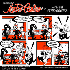 Episdio 5 - Mal de guitarrista (Madre Cassino) Tags: comics web cassino projeto madre