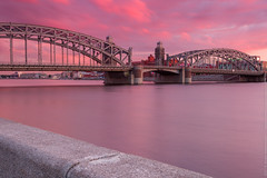 IMG_1961 (aneshitoff) Tags: bridge sunset summer river whitenight