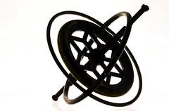 Gyroscope (cinotosi) Tags: silhouette physics highkey gyroscope appliedphysics gyroskop angewandtephysik