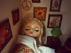 Someone can now sleep! (AllthingsTiffany) Tags: bedroom eyes sleep blythe tbl