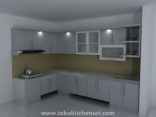 kitchen set marmer