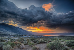 Nature provides exceptions to every rule… (ferpectshotz) Tags: sunset clouds day cloudy dramatic alpine highdesert yosemitenationalpark monolake sierranevada