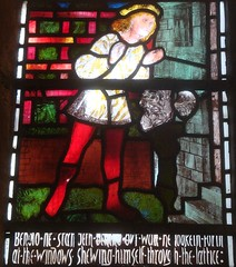 [15420] Darley Dale : Song of Songs of Solomon Window (Budby) Tags: church window derbyshire stainedglass williammorris preraphaelite burnejones darleydale
