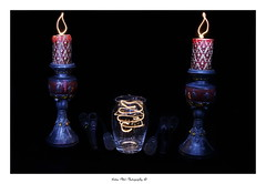 Night Painting (Victor Mitri) Tags: light night painting candle flame laser bulp nightpainting