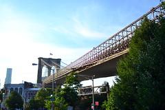 Brooklyn Bridge (Leticia-b) Tags: new york city trip viaje cidade nova america nikon united american viagem states estado americano estados unidos iorque d3100