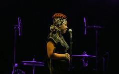 Zena Moses and Rue Fiya at Tipitina's on July 27, 2013