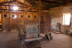 boolcoomatta july 2013 - 7240505 - woolshed (liam.jon_d) Tags: heritage history station australian australia historic historical outback homestead sa pastoral southaustralia cultural culturalheritage bha woolshed shearingshed woolpress sheepstation stationyard southaustralian billdoyle bushheritageaustralia abhf pastoralhistory boolcoomatta bushheritage australianbushheritage australianbushheritagefund boolcoomattareserve boolcoomattahomestead boolcoomattastation heritageimset