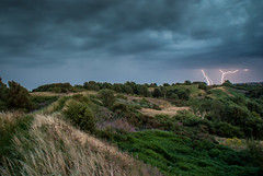 Lightning over Park Hall, Stoke-on-Trent (Raven Photography by Jenna Goodwin) Tags: park storm clouds dark landscape photography hall long day trent lightning staffordshire stoke thunder exposire