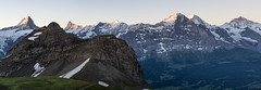 Bernese Oberland Morning Light (PhiiiiiiiL) Tags: morning schnee light panor
