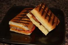 Meatloaf Panini (Spebak) Tags: california food canon lunch sandwich panini canondslr meatball comfortfood meatballsandwich foodstyle classicsandwich spebak