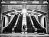 NewYork (big andrei) Tags: bw newyork stairs olympus escaleras omd 1250mm