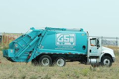 Gallegos Sanitation Inc. (Scott (tm242)) Tags: trash dumpster truck garbage side debris rear disposal front bin collection rubbish fl waste refuse recycle loader removal recycling load hopper collect packer rl haul asl msl