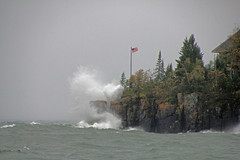 Gales of October . . . (doc030395) Tags: harbor gales northshore angry lakesuperior hovland spiritofthelake