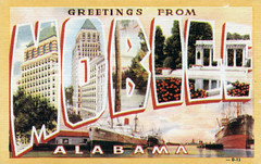 Greetings from Mobile, Alabama - Large Letter Postcard (Shook Photos) Tags: mobile ship linen postcard alabama postcards greetings shipping linenpostcard bigletter mobilealabama d13 largeletter largeletterpostcard largeletterpostcards bigletterpostcard bigletterpostcards 29363