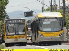 3 2455 e 3 3023 - Consórcio Plus (Emerson F.C.®) Tags: bus sãopaulo millennium sp mercedesbenz ônibus o500u millenniumbrt o500uda