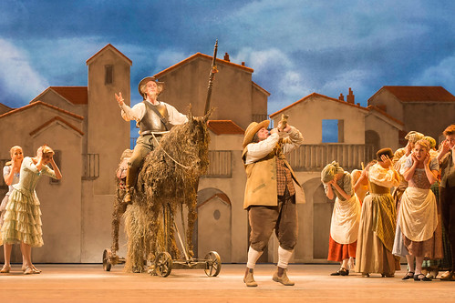 Watch: Behind the scenes on Don Quixote
