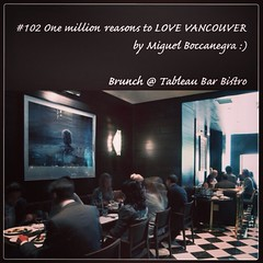 | no.102 | | Brunch @ Tableau Bar Bistro | (onemillionreasonstolovevancouver) Tags: world city people food tourism home promotion vancouver cool realestate profile brunch today l4l vancity downtownvancouver metrovancouver onemillion cityofvancouver vancouverite vancouvercity vancouverrestaurants vancouvertourism vancouverrealestate healtyfood vanone awesomevancouver instaphoto instagood instafollow uploaded:by=flickrmobile flickriosapp:filter=nofilter miguelboccanegra thegreatervancouverarea