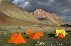 27x07x2006x0244 (andysuttonphotography) Tags: travel camping wild orange mountains expedition trekking tents force adventure ten himalayas ladakh vango kargyak