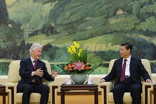 比尔•克林顿北京演讲倾倒中国听众