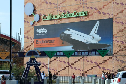California Science Center, Exposition Park, Los Angeles, Space Shuttle Endeavour, NASA,