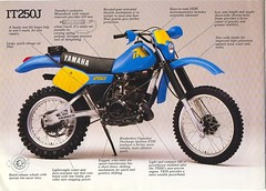 YAMAHA IT250J (Rickster G) Tags: pictures two classic vintage ads mono 1974 flyer offroad image photos antique album picture 360 stroke it images literature oldschool trail photographs photograph 400 1975 yamaha 1981 70s 100 1978 dirtbike collectible collectors 1977 sales 1980 brochure 1979 mx rare spec 1976 dt 250 thumper 175 twostroke enduro dealer motox 125 465 twinshock dt400 vjm vinduro classicyamaha