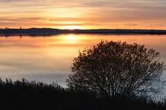 Tay Sunset. (stonefaction) Tags: park sunset nature scotland twilight riverside dundee dusk tay gloaming faved