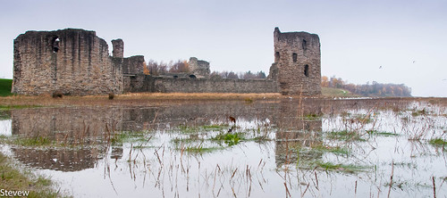 Flint Castle Gets it Moat Back