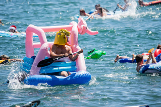 Manly's Inflatable Boat Race 2013