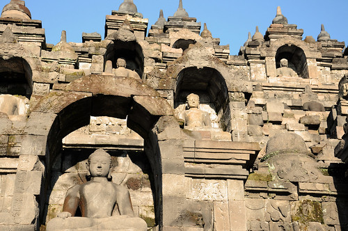 Buddha Terraces, Borobudur Temple