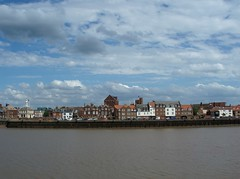 A long view of King's Lynn (Molly Moult) Tags: buildings river view norfolk quay kingslynn may2011