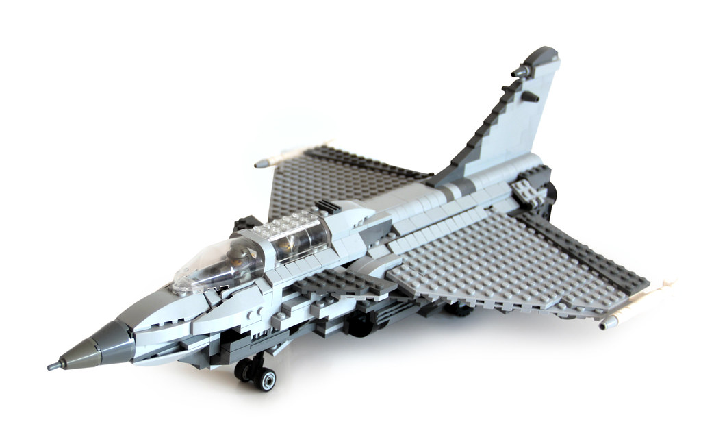 The world 39 s best photos of lego and rafale flickr hive mind - Avion de chasse en lego ...
