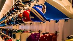 Harley Tanks.jpg (Darren Berg) Tags: color colour gas harley harleydavidson motorcycle gastank explored