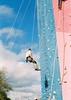 скалодром осенью (suhodolskiy) Tags: autumn sky film architecture 35mm 50mm nikon odessa agfa alpinism осень небо архитектура море человек облака agfacolor пленка 35мм одесса альпинизм альпинист пленочное