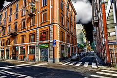 Graffiti (4) (Marco Trovò) Tags: italy graffiti italia milano case canon5d murales lombardia hdr palazzi biciclette zonatortona viasavona marcotrovò marcotrovo