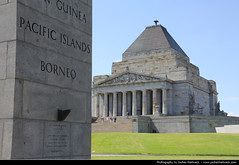 Shrine of Remembrance, Melbourne, Australia (JH_1982) Tags: world building monument architecture memorial war shrine australia melbourne landmark victoria vic australien remembrance anzac australie austrlia   australi